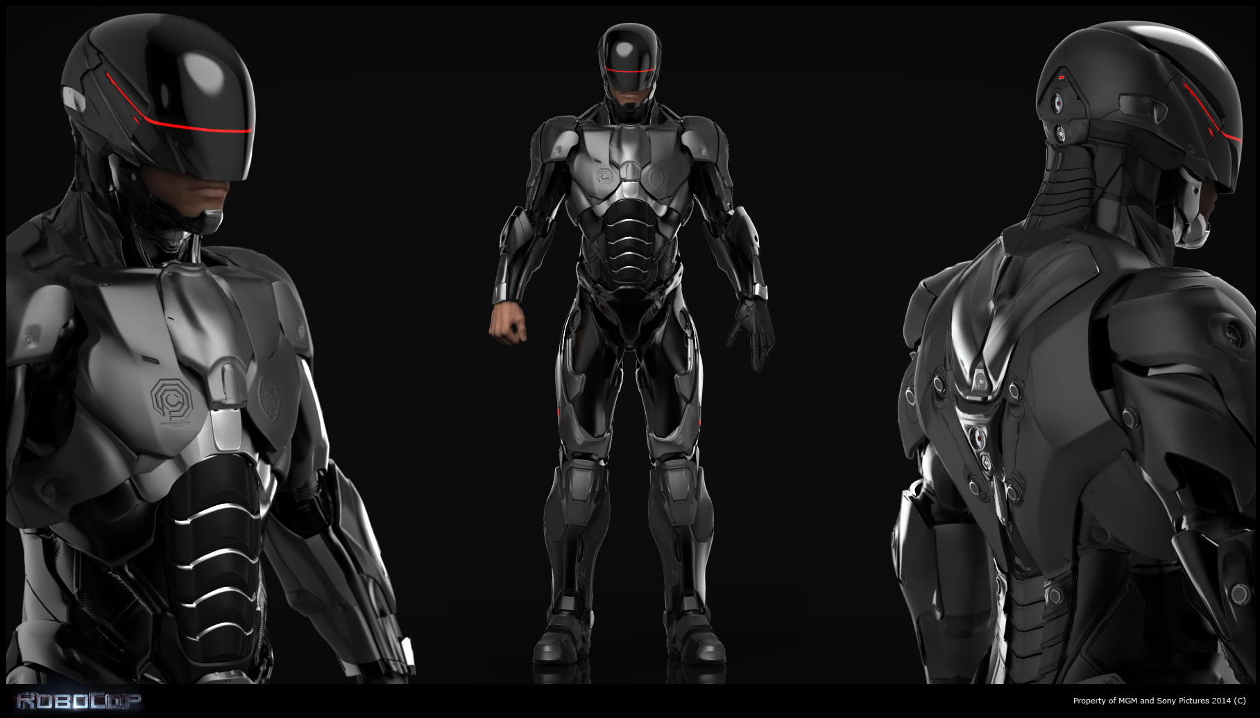 RoboCop Concept Visuals Developed Using KeyShot - KeyShot